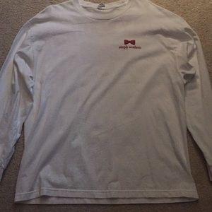 Simply Southern XL Classic White Long Sleeve Shirt